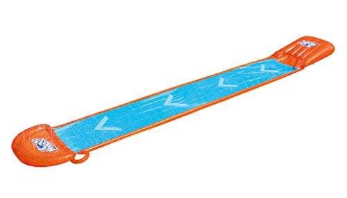 Bestway Landing Splash and Slide - Tobogán con luz led (549 x 82 cm)