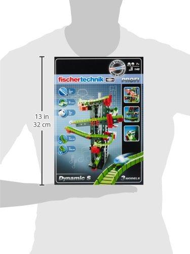 Fischertechnik Dynamic S – Juego Educativo y Divertido de Construcción de Circuitos de...