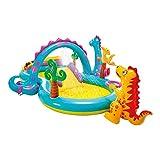 Intex-57135NP Dinoland Play Center-Centro de juegos acuático hinchable, modelo surtido...