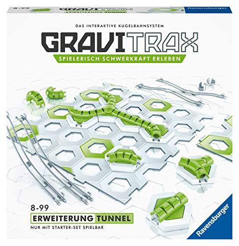 GraviTrax- Circuito – Expansión túnel, Color carbón (Ravensburger 27614)