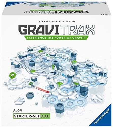 Ravensburger GraviTrax Starter Set XXL, Juego construcciones STEM, +200 componentes, Edad...