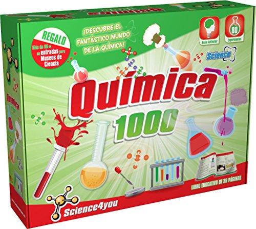 Science4you - Química 1000 - Juguete Científico y Educativo