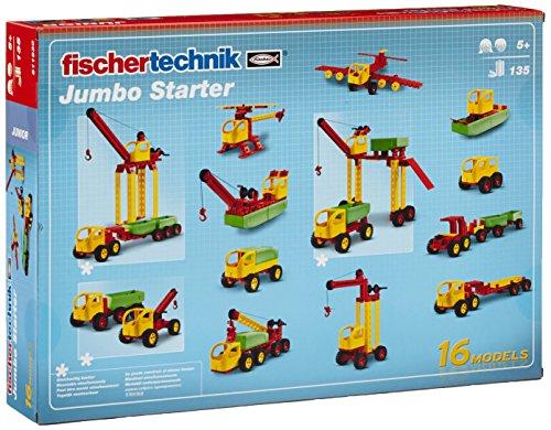 Fischertechnik Jumbo Starter – Divertido y Educativo Juego de Construcción de...