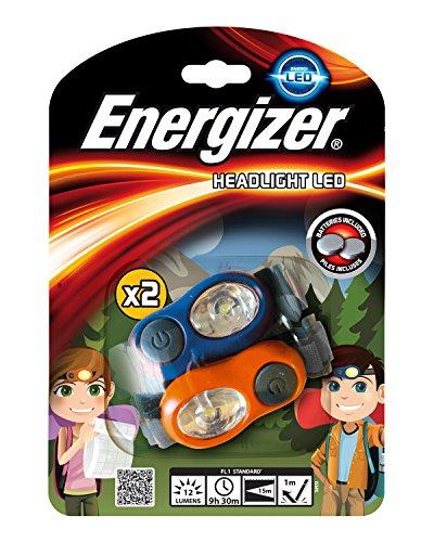 Energizer Kids Headlight Twin Pack - Linterna (Múltiple, Acrílico/Plástico, 34 g, 64.3...