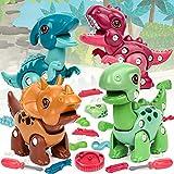 Vanplay Dinosaur Toy DIY Dinosaurio Juego Stem Juguete Educativo para Niños y Niñas de 3...