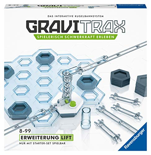 GraviTrax- Pista de Bolas – ampliación de elevación, Color carbón (Ravensburger...