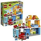 LEGO Duplo Town Duplo Street Casa Familiar de Juguete de Preescolar con Muñecos y Coches...