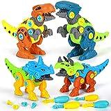 kramow Dinosaurios Juguetes para niños 4 5 6 7 años,Desmontar Dinosaurios Construccion...