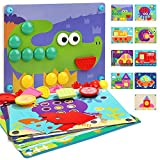 Nene Toys - Puzzle Infantil de Madera 8 en 1 – Juguete Educativo para Niños Niñas de 2...