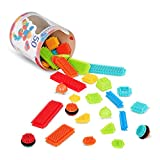 Bristle Blocks - Juego de bloques para bebé (Battat 70.3068) , Modelos/colores Surtidos,...