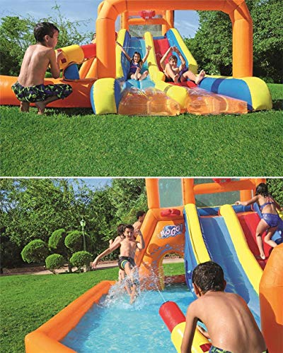 AUZZO HOME Castillos Hinchables astillo Inflable trampolín Inflable Juguetes inflables de...