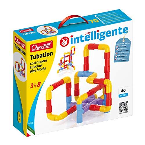 Quercetti 4175 juguete de construcción - Juguetes de construcción (Tube set, Azul, Rojo,...