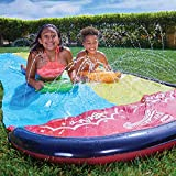 Wham-O-64120 Slip and Slide Double Wave Rider con boogies, Color Multicolor. (64120)