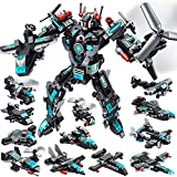 MOONTOY Juguetes Robot Stem 577 PCS Juguetes de construcción para niños de 6 años...