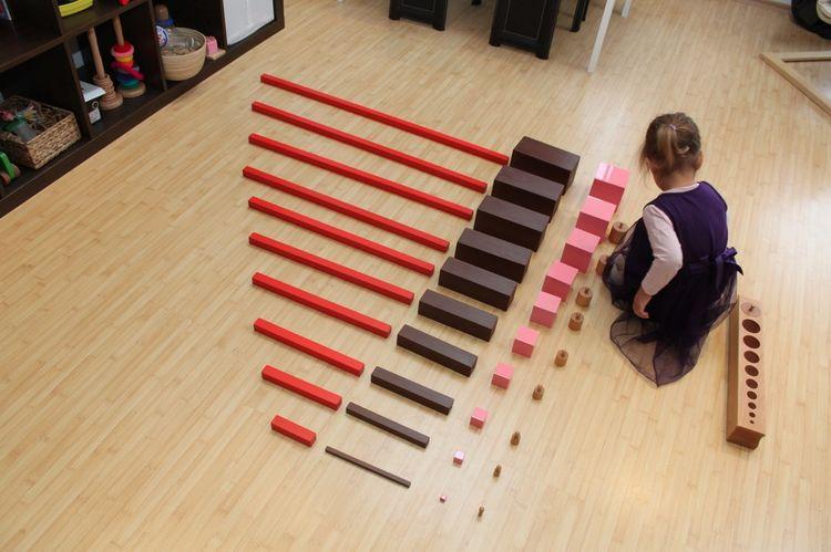 Los mejores materiales Montessori para aprender matemáticas
